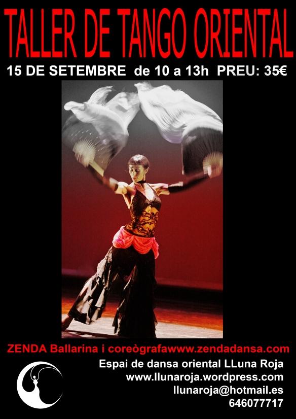 Taller de tango oriental Lluna Roja
