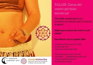 Cartell bo- LLUNA ROJA T.dolor menstrual